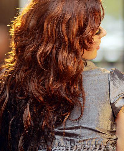 Et si on optait pour une jolie couleur auburn auburn cheveux hair haircolor hairstyle - Couleur auburn pour qui ...