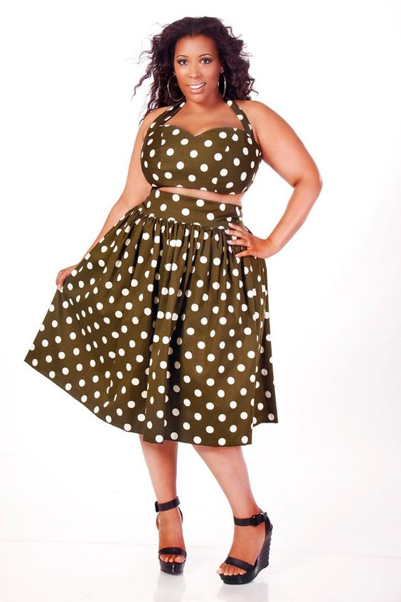 JIBRI RELEASES NEW PLUS SIZE SUMMER DRESSES AND SKIRTS - Plus size ...