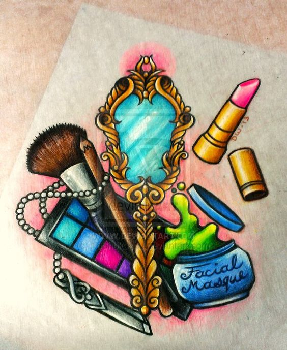 12 Makeup Tattoo Designs Ideas: Commission For *TeaFairy By