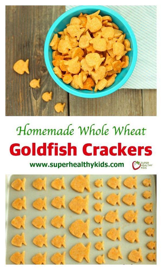 Whole Wheat Goldfish Crackers | Recipe | Goldfish Crackers, Goldfish ...
