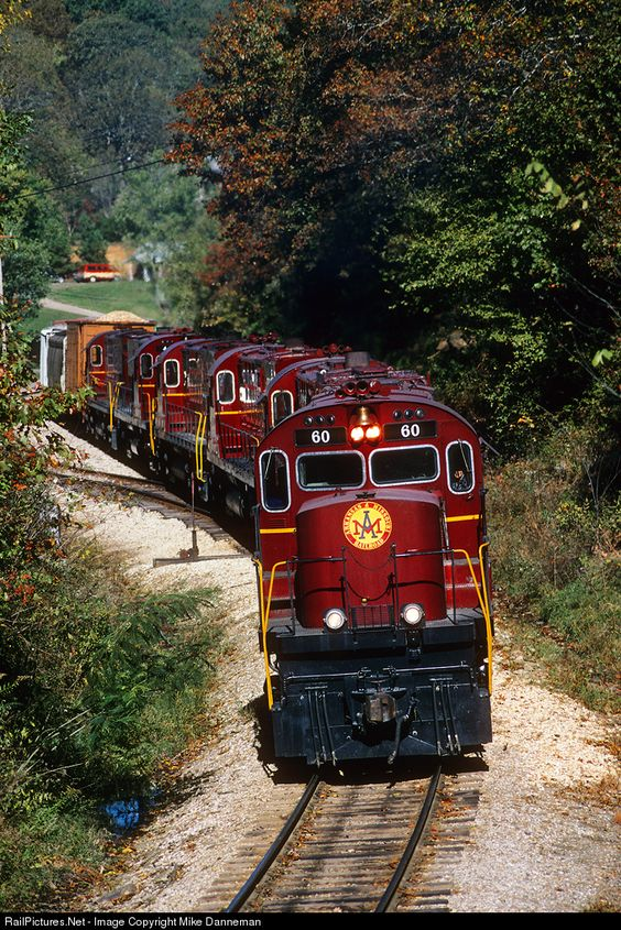 Arkansas & Missouri Railroad Alco C420 at Winslow, Arkansas by Mike Danneman: