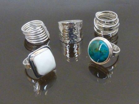Anillos plata 925 y piedras naturales anillos pinterest for Piedras naturales