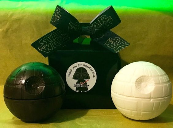 Star Wars Death Star Chocolate Ball Mothers Day Gift. Easter Egg
