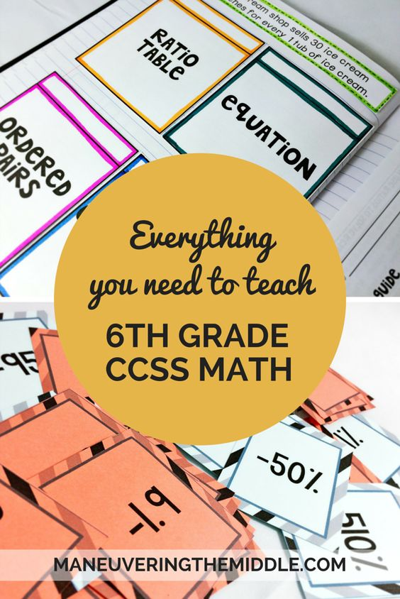 Year long activities and materials for the common core 6th grade math.  Over 100 lessons and 72 activities to keep students engaged and mastering the common core math content.  All sixth grade math standards are included.
