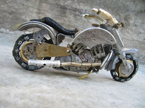 roc21: Motocicletas y relojes