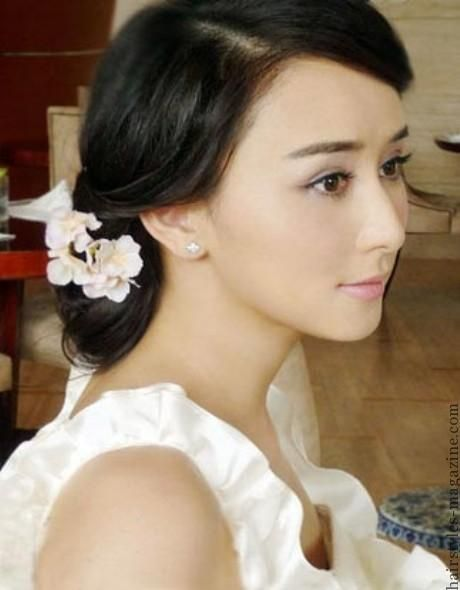 Super Chinese Bride Bride Hairstyles And Hairstyle Magazine On Pinterest Hairstyle Inspiration Daily Dogsangcom