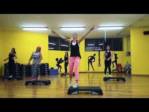 Simple Step Coreo Block 1 Didactics Youtube Aerobic Ubungen