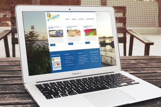 Fischerei  Angermünde mit neuer Website