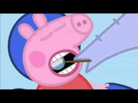 Peppa Pig visits the dentist! A fun video to show your kids about what happens when you go to the dentist.