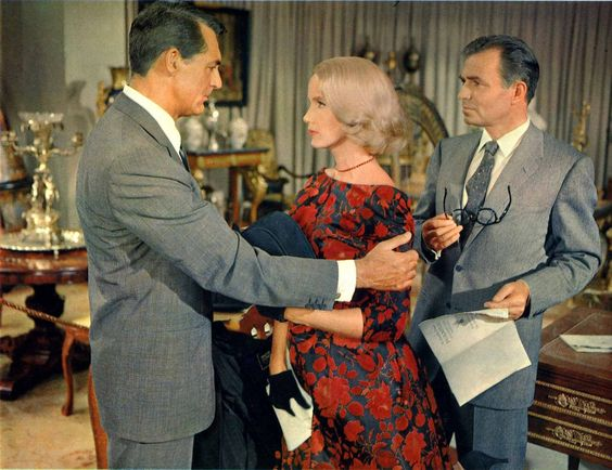 Cary Grant, James Mason, and Eva Marie Saint in North by Northwest (1959) …