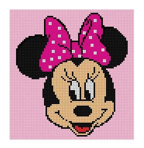 Free Disney Crochet Graph Patterns : Minnie Mouse Graph Crochet Patterns Pinterest Minnie ...
