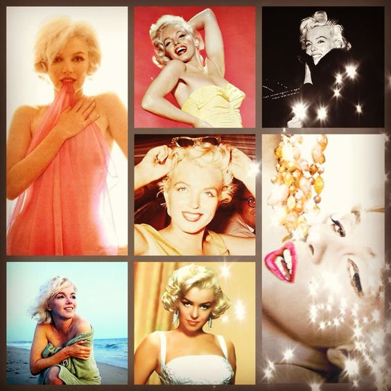 Collage I made of my Idol, Marilyn...