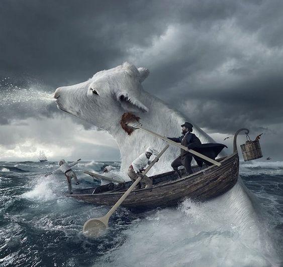 24 incríveis montagens de Photoshop - Assuntos Criativos: