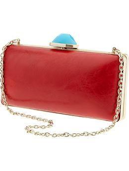 Trina Turk box clutch