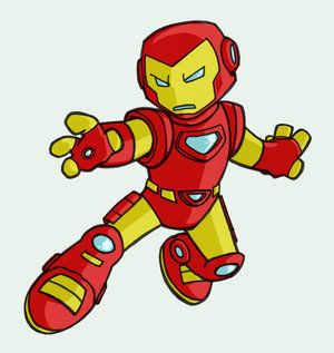 ironman clip art | LAME: the new iron-man cartoons are ...