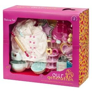 Our Generation Home Accessory Kitchen Baking Set Target Mobile Doll Wish List Pinterest