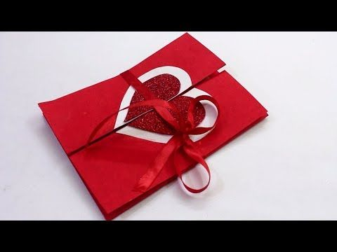 How To Make Handmade Pop Up Valentine Heart Card With A Lock Diy Cards Making Ideas Scra Valentine Cards Handmade Birthday Card Craft Birthday Cards Diy
