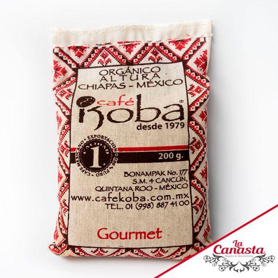 Café orgánico Koba... delicioso y listo para enviártelo a casa.