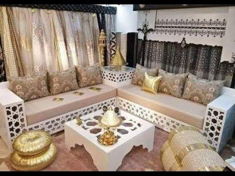 Sejour Marocaine 2018 تشكيلة مميزة من غرف الجلوس Youtube Moroccan Interiors Living Room Sofa Design Moroccan Living Room