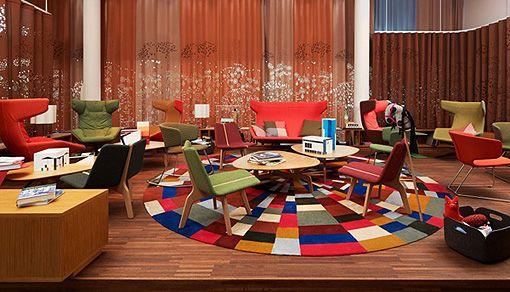 Hotel moderno Zurich. Decoratrix