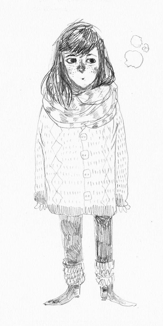 Cold nose self-portrait.