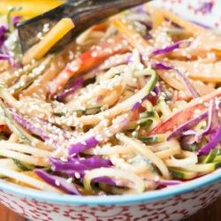 love the colors of this fun salad!