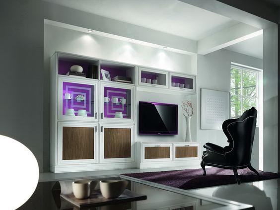 Soggiorno anta riquadro df il classico italiano   mobili in stile ...