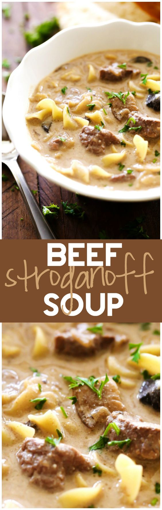 Beef Stroganoff Soup   Recipe   Classic, Soups and It is