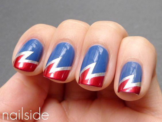 Nailside: Superhero nails