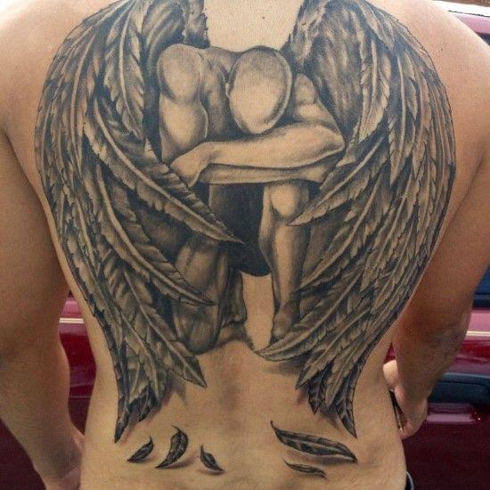 77 Beautiful Spiritual Angel Tattoo Designs Media Democracy Angel Tattoo Designs Fallen Angel Tattoo Beautiful Angel Tattoos