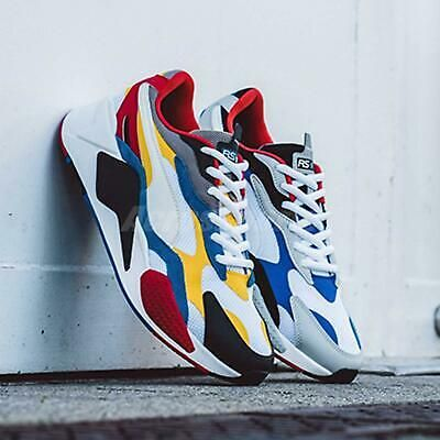 Ad Ebay Puma Rs X3 Puzzle White Yellow Red Run System Men Women Lifesytle Shoe 371570 04 Boxing Boots Nike Shoes Women Badminton Shoes