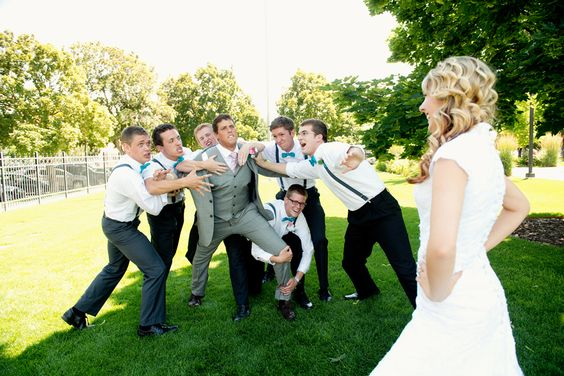 RaeTay Photography » Funny groomsmen picture, groomsman picture, creative groomsmen picture: