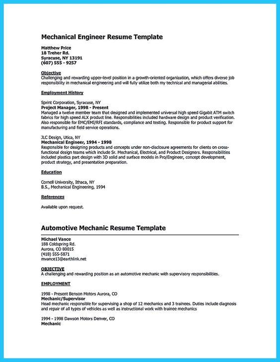 Genius Resume Samples & Examples