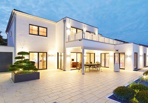 luxushaus villa cannstatt ein fertighaus von gussek haus luxushaus pinterest villas. Black Bedroom Furniture Sets. Home Design Ideas