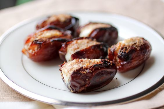Wed 6/20: Stuffed Dates (gluten free, Paleo) from @Primal Palate