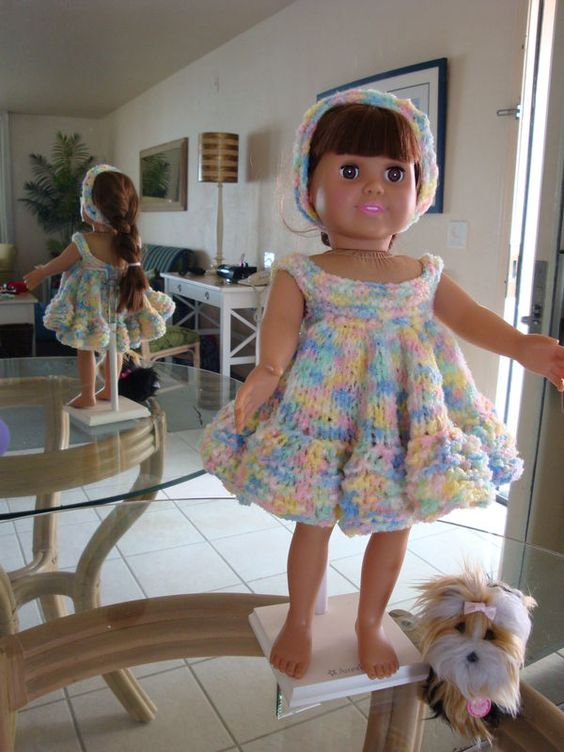 Girl dolls, Knitting patterns and Awesome on Pinterest