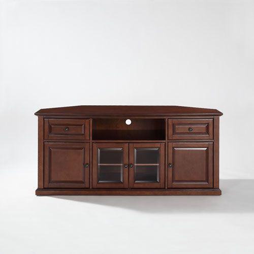 Crosley Furniture 60 Inch Corner Tv Stand In Vintage