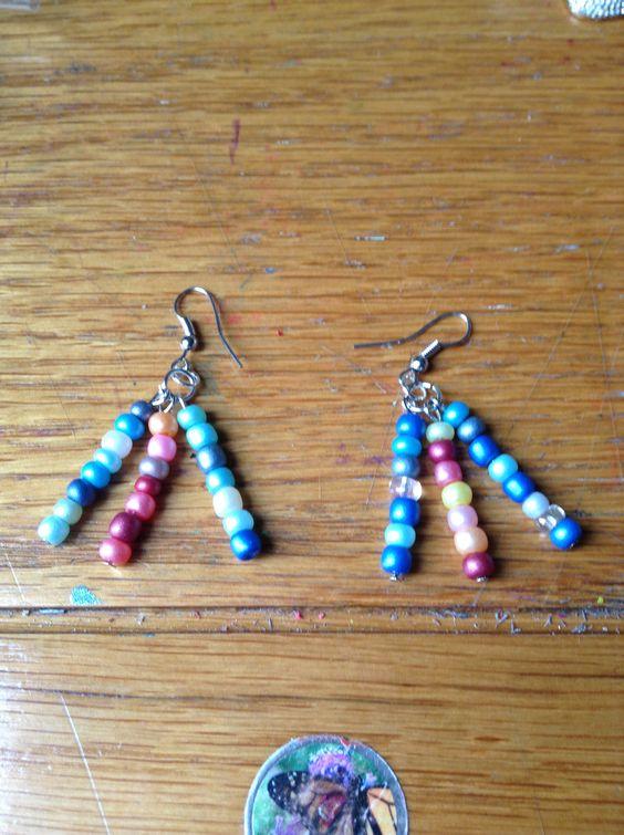 Earrings I made!