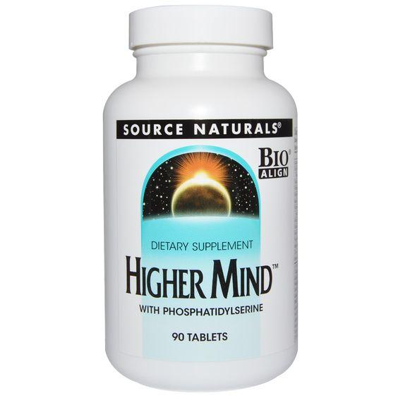 Source Naturals, 穏やかな心(Higher Mind), 90錠