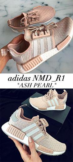 adidas NMD_R1 (Ash Pearl Chalk Pearl)   Schuhe frauen