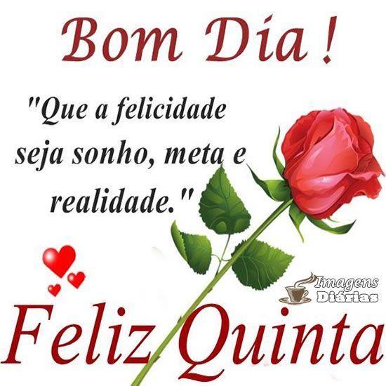 Imagens De Bom Dia E Feliz Quinta Feira Para Compartilhar No