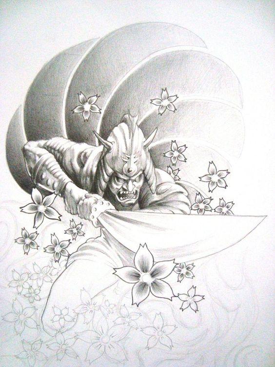 Samurai Tattoo by sagui73