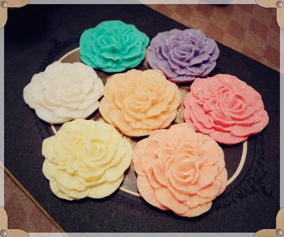 6pcs Sample Pack  Matte Ivory snow white French rose by CMVision