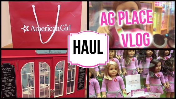 American Girl Place VLOG + Haul 2015