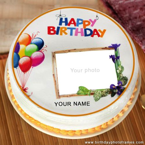 Beautiful Kids Happy Birthday Cake Wishes With Name And Photo Happy Birthday Cake Images Happy Birthday Cakes Happy Birthday Cake Photo