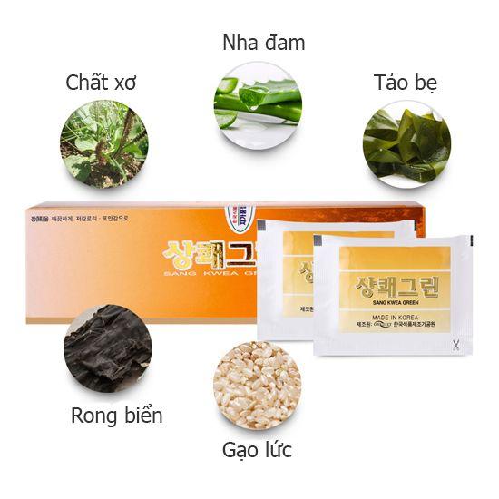 Combo Thực phẩm chức năng hỗ trợ tiêu hóa và nhuận tràng One Diet SANG KWEA GREEN(2 gói)