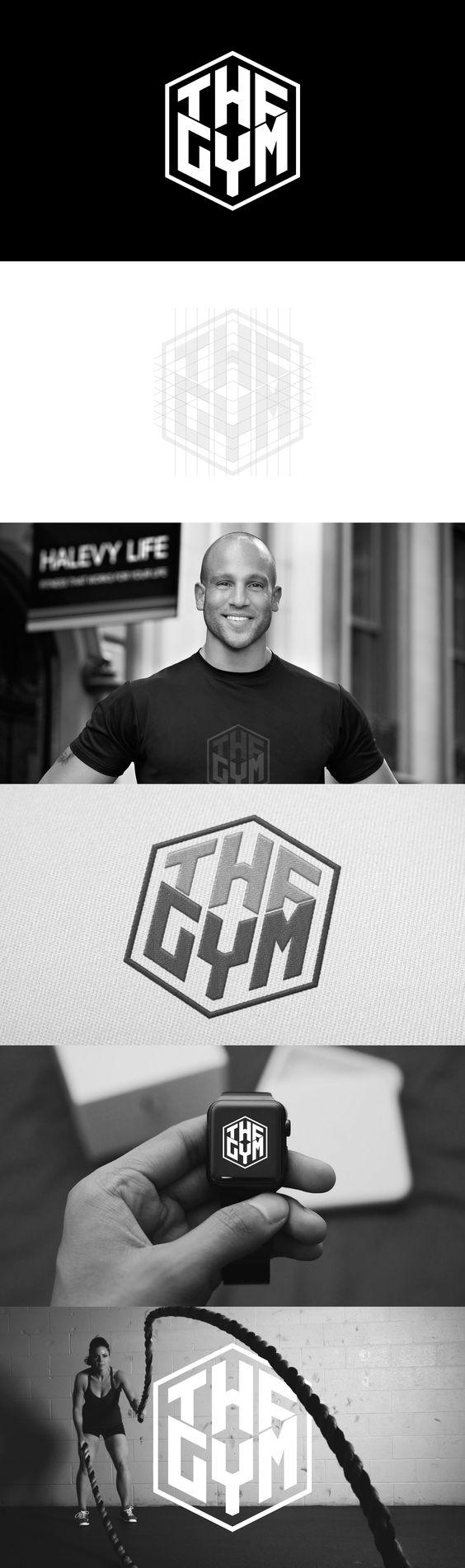 The Gym Logo Designed by Ricky Richards www.brandedbyrick.com