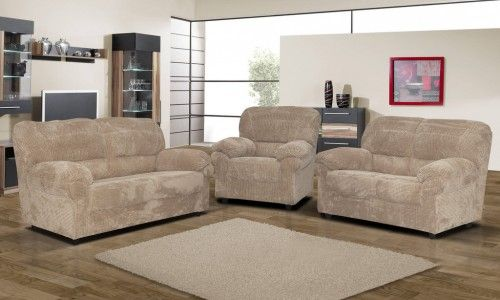 2 & 3 Seater Sofa sets in Candy fabric are available at Sofas & More LTD. These sofa sets are big and comfortable and comes with back cushions.