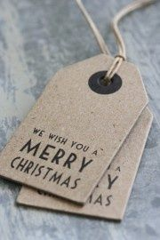 | Cute Christmas tags. |