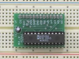 Ad5206 digital potentiometer